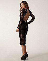 Joline Dress - Nly Eve - Black - Party dresses - Clothing - NELLY.COM UK