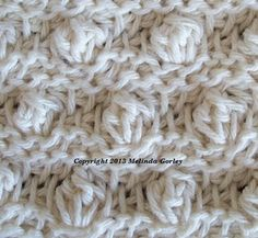 Tunisian Crochet-Bobble Stitch