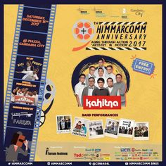 Poster ultah HIMMARCOM Batutara sebagai spesial performance