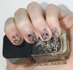 """PerfeclyPolished12: Formula X for Sephora's """"Bombshell"""" over a plain nail"""