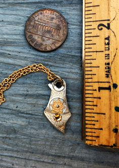Excited to share the latest addition to my #etsy shop: SALE Steampunk Men's Gold and Silver Jewelry, Rare Silver & Gilt Star, Women's Gift, Steampunk Necklace, Original Necklace, Unique Necklace