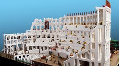 """Architizer Blog » Constructing The World's First """"LEGO Colosseum"""", One 'Brick' At A Time- awesome"""