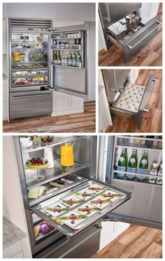 TELL US what you think of our NEW Built-in Refrigerator that was just named a finalist for a Best of Year Award by Interior Design Magazine. Interior Design Magazine, Luxury Interior Design, Kitchen Room Design, Interior Design Kitchen, Kitchen Jars, Kitchen Appliances, New Home Wishes, Chalet Design, Interior Design Presentation
