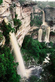 Cachoeira do Ferro Doido - Morro do Chapéu