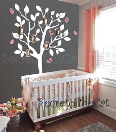 Tree decal  Family tree wall sticker  photo by secretofthecat, $88.00
