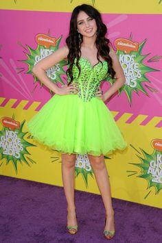 Ryan Newman  - Kids Choice Awards 2013