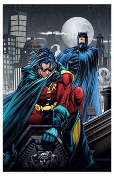 Robin: Search For a Hero: With Batman gone from Gotham City, Robin must stop the gang warfare that threatens to overrun the city. And what does the mysterious Red Robin have to do with the situation? Im Batman, Batman Art, Batman Comics, Batman Robin, Superman, Nightwing, Batgirl, Catwoman, Batman The Dark Knight