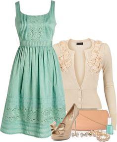 LOLO Moda: Elegant women fashion I love that dress!!