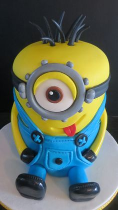 Despicable Me Minions My Minion, Minions, Cakes For Men, Despicable Me, Cheesecakes, Amazing Cakes, Boys, Character, Baby Boys