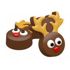 Six cavity Mini Reindeer mold made specifically for making chocolate covered Oreo® cookies. Can also be used for making soap. Reindeer Cookies, Oreo Cookies, Chocolate Cookies, Christmas Cookies, Chocolate Candy Molds, Chocolate Covered Oreos, Melting Chocolate, Oreo Molds, Make Your Own Chocolate