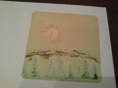 Gelli plate and inks