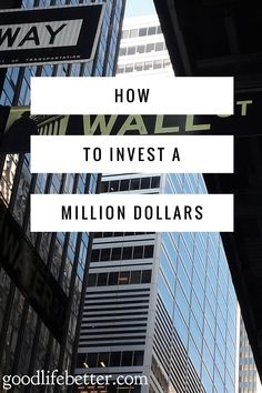 What I would do with $1million.  What do you think?   via @goodlifebetter