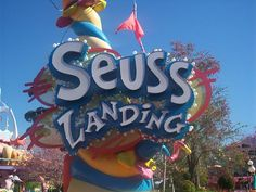 Seuss Landing---Universal Studios Orlando FL   I love Dr Seuss and his world @ Universal!