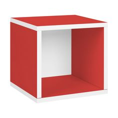 """zBoard Storage 12.8"""" Stackable Storage Cube and Cubby Organizer"""