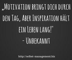 Was ist deine Inspiration? http://selbst-management.biz/