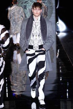 Versace Menswear Fall 2013