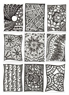 Debbi Baker: Zentangles - An Addiction!