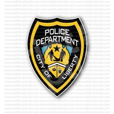 Liberty City Police Department Sticker