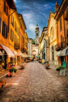 Street Colours of Menaggio by P-J Taylor on 500px #Menaggio #Italy #Lake Como