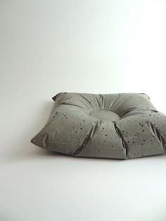 Medium Concrete Pillow. Set of Three. Bedside Caddy. by LittleEli, $45.00