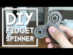 Fidget Spinner DIY: EASY,  Cheap, Ceramic, Metal, Long Spin - YouTube