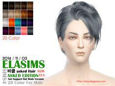 Emma's Simposium: TS4 Post #113 - 5 ELA Sims Hair at MaySims - AU