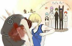 kuroko no basket Love And Basketball, Kuroko's Basketball, Manga Anime, Anime Art, Anime Meme, Konoha High School, Kiseki No Sedai, Kise Ryouta, Akakuro