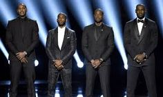 MELO, WADE, CP3 AND LEBRON START THE ESPYS WITH AN INSPIRATIONAL SPEECH