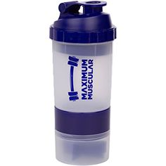 Maximum Muscular Protein Shaker Bottle, Cup with Extra Storage Compartment for Powders & Pills, Massive 20oz Capacity, Navy Blue Maximum Muscular http://www.amazon.com/dp/B00VDGGX9W/ref=cm_sw_r_pi_dp_ZtkCvb1Y5KDBV