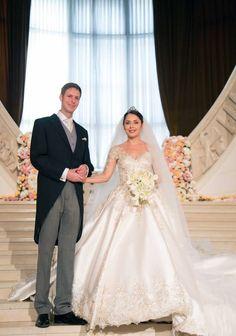 Kroonprins Léka en zijn Bruid Elia Zaharia.   8-10-2016