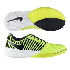 The Nike5 Lunar Gato II indoor soccer shoe allows you to feel like you are  playing