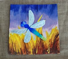 In this project we take the larger Dragonfly and attach to a background for a nice portrait.       I'm going to show you a few options for...