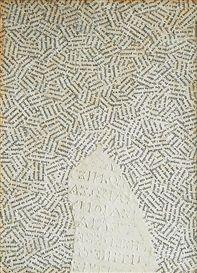 Artwork by Jiří Kolář, Chiasmage, Made of collage, paper