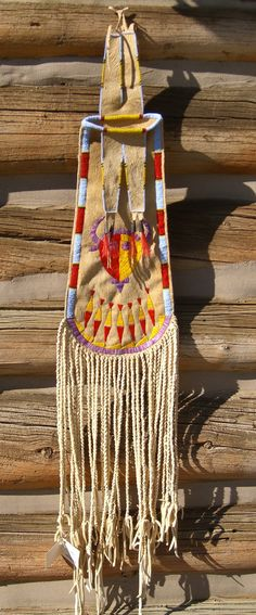 Custer Battlefield Trading Post :: Native American :: Pipe Bags :: Quilled and Beaded Pipe Bag