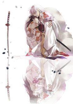 inuyasha, sesshomaru, rin. Oh my goodness, I love this!