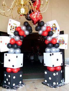 Casino Theme Party - Entrance