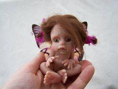 OOAK Butterfly Fairy Girl by Malga