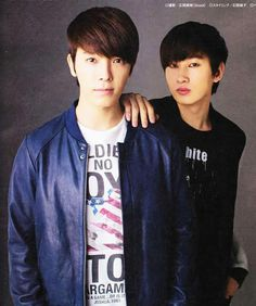 """Full Trans of MINA magazine with EunHae: Q: your first japan tour ended in success. donghae: eunhyuk and i have been saying that we wanted to do a tour for a while so we were happy that it came true. going to many different places to meet the fans..."