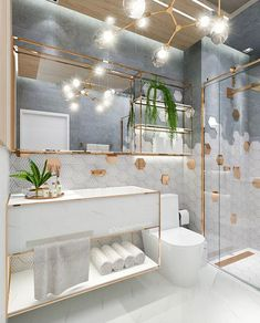 What Should You Pay Attention to While Designing a Modern Bathroom? My Merry Ornament House Modern Bathroom Decor, Bathroom Design Luxury, Small Bathroom, Luxury Interior Design, Master Bathroom, Bathroom Ideas, Bathrooms, Bathroom Inspiration, Home Collections
