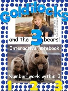 A great resource if you are working on the story of Goldilocks and the 3 bears in Literacy.  This is your number work.  Working with numbers 0-3.Check out my other resource on BEARS.Please leave feedback as I love to hear your thoughts on my work.  All my resources I have used in my own classroom.