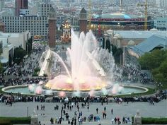 Magic Montjuic Fountains - Things to do in Barcelona, Spain