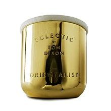 Inspiration for the lighting piece: Tom Dixon Eclectic scented candles Oriental Messing