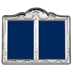 c1900 continental european silver cupid double picture frame for restoration silver silverplate pinterest - Double Picture Frames
