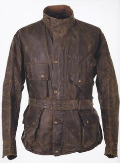 Motorcycle Jacket – Barbour – 1950's.