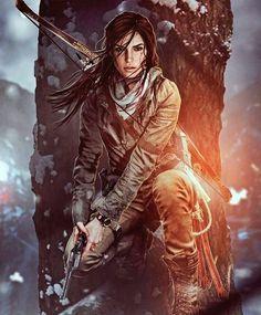 Yes I know its Lara Croft but- it looks so much like JJ Tomb Raider Lara Croft, Tomb Raider Game, Fantasy Characters, Female Characters, Mononoke Anime, Character Inspiration, Character Art, Tom Raider, Laura Croft