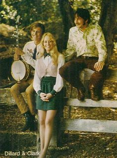 "geneclarkpages:  "" memesouslapluie:  "" Dillard & Clark with Donna Washburn  ""  Very cool one. Love this periode's Gene music very much. TY Mrs, """