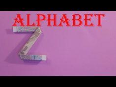 money origami alphabet letters Z xếp chữ Z = tiền | gấp giấy origami - YouTube Origami Alphabet, Origami Letter, Dollar Origami, Money Origami, Origami Youtube, Symbols, Letters, Template, Icons