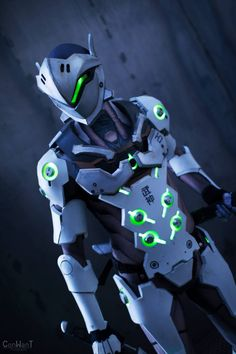 Genji Cosplay - Overwatch - Por Just Cosplay and Props - 02