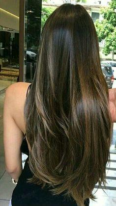 Beautiful brunette hair. Emerald Forest shampoo with Sapayul oil for healthy, beautiful hair. Sulfate free, vegan friendly & cruelty free shampoo. shop at www.emeraldforestusa.com