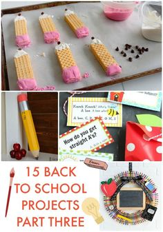 Great Ideas — 15 Back to School Projects Part Three! Einschulung – There are only about two weeks left before it gets a lot quieter around the house! Here are 15 Back to School Ideas from this week's Link Party Palooza! Back To School Art, Back To School Teacher, 1st Day Of School, Back To School Crafts For Kids, School School, First Day Of School Pictures, Back To School Breakfast, School Images, School Auction